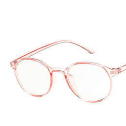 da93b9ff3d1 round frame prescription glasses Promo Codes - Viodream Retro Round Glass  Frame Student Eye Glasses Frames