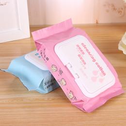 essenz make-up großhandel Rabatt 25 Stücke Koreanische Augenlippe Gesicht Make-Up Entferner Nasses Handtuch Einweg Tiefenreinigungstücher Make-Up Entfernen Towelettes