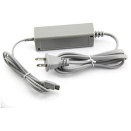 Wii U Gamepad Kontrolör Yedek ABD, AB UK Tak Kablo Kordon Şarj AC Adaptör Güç Kaynağı Duvar Şarj USB nereden üçgen ayak tedarikçiler