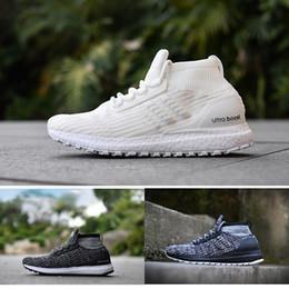 2019 sapatos de qualidade baratos New Cheap Ultra Boost ATR Mid Men Running Shoes Borgonha Oreo Triplo Preto de Alta Qualidade UltraBoost Primeknit Esporte Das Mulheres tênis sapatos de qualidade baratos barato