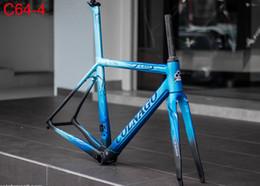 Carbono de chegada on-line-2019 New arrival T1100 3 K Matte-Glossy Preto Vermelho Colnago C64 quadro de bicicleta de estrada de carbono Frameset com 6 cores para a seleção