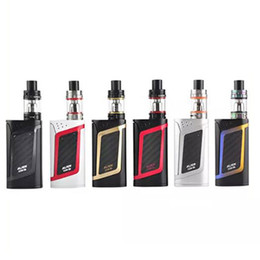 alien kit batteries Promo Codes - Alien Kit Alien 220w TC Box Mod with 3ML TFV8 Baby Tank TCR Mode Dual Battery Large Air Chamber ecigs kits