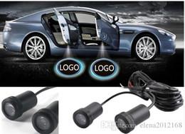 honda tür geführt Rabatt 2 PC LED Autotürlampe willkommen Logo Projektion Licht für BMW Toyota Honda Nissan Hyundai Kia Volkswagen Audi Ford Jeep