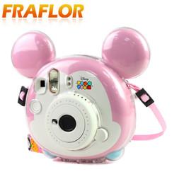 2019 bolsa de la cámara polaroid Crystal Clear PC Camera Bag TSUMTSUM / Mini Kitty Camera Bag Protección fotográfica para Polaroid Instax Shell antiarañazos bolsa de la cámara polaroid baratos