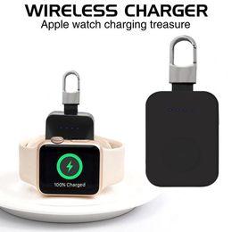 зарядные устройства для ховерборда Скидка Портативный карманный беспроводное зарядное устройство зарядки брелок подходит для Apple Watch серии 4/3/2/1