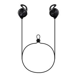 Спортивный наушник для ушей онлайн-Новейшие беспроводные спортивные наушники Bluetooth 4.2 Наушники-вкладыши с шейным ободом Стерео HiFi Музыка Затычки для ушей Для всех смартфонов