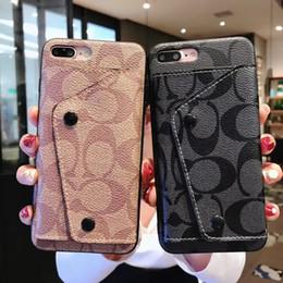 Moda Lüks Cüzdan Telefon Kılıfı için iPhone X XR Xs max 6 6 artı 7 7 artı 8 8 Artı Kart Tutucu Deri Tasarımcısı Telefon Kılıfı nereden