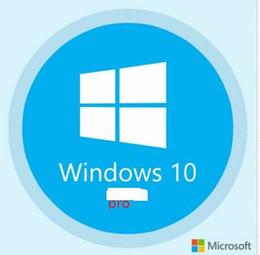 W10 pro versão de varejo código completo KEY100 on-line% Varejo 32/64 BIT de