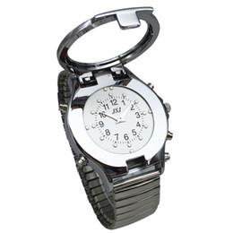 829de0e764f 2019 blind watches Inglês falando e relógio tátil para pessoas cegas ou  pessoas com deficiência visual