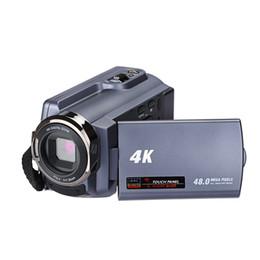 скрытые камеры записи Скидка Видеокамера 4K WIFI 48MP OEM и ODM дисплей цифрового фотоаппарата HD стиля домашнего использования