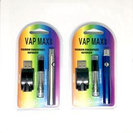 2019 w3 kit Neueste Vap Max W3 Kit 350mAh VV variable Spannung vorheizen Batterie 0,5 / 1,0 ml 510 Glaskartuschen Tanks USB-Ladegerät vape Stift günstig w3 kit