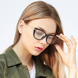 Красочные очки онлайн-Fashion Female Frame Optical Eyeglasses Full Rim Women Prescription Glasses Frame Woman Colorful Spectacles Designer