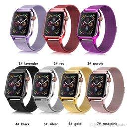 Argentina Estuche de TPU + Correa de reloj para Apple Watch 4 iWatch Band 44 / 40mm Pulsera Loop milanesa Pulsera de acero inoxidable magnética para Apple Watch 4 solamente Suministro