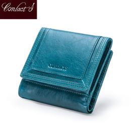 Натуральные кожаные картеры онлайн-Бренд-дизайнер женщин кошельки натуральная кожа портмоне бумажник короткие Carteras качество держатель карты мешок денег для девочек