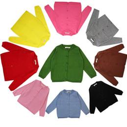 2019 cardigan di buona qualità Nuovo design bambina maglione primavera autunno bambini maglia maglione cardigan bambini primavera usura buona qualità cardigan di buona qualità economici