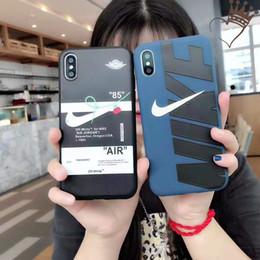telefone celular moonor moon Desconto Designer IPhone Caso Aplicável para IPhone XR XSMAX XS 7/8 plus 7/8 6/6 SP 6/6 s Moda Marca Fora Do Estilo Do Esporte Caso Moda de Rua
