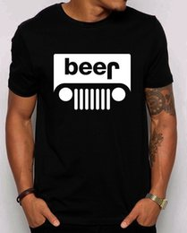 Tee shirt Unisexe bière jeep. Idée cadeau pour les propriétaires ? partir de fabricateur