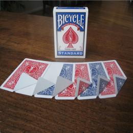 2019 truques de mágica grátis 1 baralho de bicicleta gaff variedade mágica pacote de cartas de baralho cartões mágicos adereços especiais close up stage truque de mágica para mago livre navio j190427 truques de mágica grátis barato