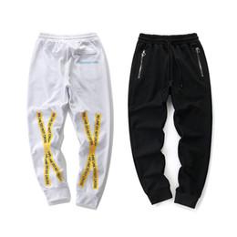 Cordes féminines liées en Ligne-Pop2019 Jaune Traversant Cordon Pantalon Hommes Et Femmes Charme Temps Tirant Corde Motion Bound Pieds Pantalons