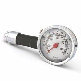 pin porsche Sconti Monitor di misura del quadrante del calibro di precisione della pressione del metallo della gomma del pneumatico della motocicletta di automobile
