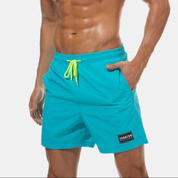 guarnición del desgaste Rebajas Escatch Boardshorts Men Beach Board Shorts de secado rápido Short traje de baño Hombre Bermudas Surf Swim Wear Malla Forro Liner C19040301