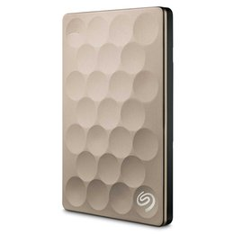 seagate hard drives Promo Codes - Seagate Backup Plus Ultra Slim 1TB 2TB Portable HDD External Hard Drive USB 3.0 Platinum 9.6mm Original for Laptop Desktop