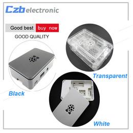 2019 cassa del dissipatore Per il caso di Raspberry Pi con la scatola di Case Cover protezione in alluminio del dissipatore di calore per il Raspberry Pi 3 Modello B + Plus PI 3/2 sconti cassa del dissipatore