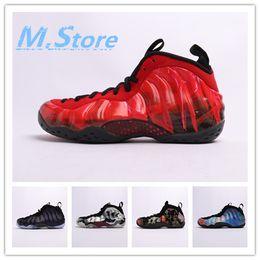 Hommes Penny Hardaway chaussures de basket-ball Mousse Posite un Floral USA Université Blu Phoenix Maroon Baskets De Sport Doernbecher 314996 641745-600 ? partir de fabricateur