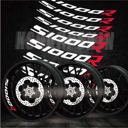 Motocicleta bmw on-line-Novos adesivos de motocicleta tendência personalizada antes e depois de decalques personalidade modificada sinais reflexivos adesivos para BMW S1000R