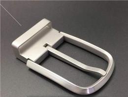 Titane pur en métal boucle de ceinture anti-allergique boucle de ceinture affaires loisirs épingle vis bague de ceinture 7.3 * 1.3 * 4.6 cm ? partir de fabricateur