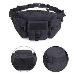 golf wallets Promo Codes - Men Outdoor Military Waist Bag Tactical Waist Pack Shoulder Bag Multi-Pocket Molle Camping Hiking Belt Wallet Pouch Purse Free DHL M118F