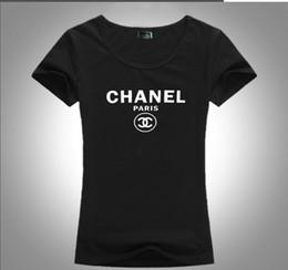 t-shirts occidentaux de mode Promotion nouvelle moitié femme manches été T-shirt de style occidental de la mode T-shirt loose beau T-shirt en coton à manches courtes femmes