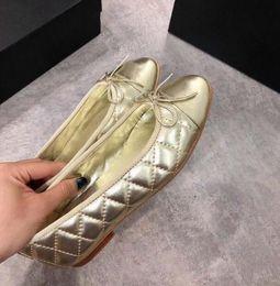peles de couro para sapatos Desconto 2019 Moda Estilo das Mulheres Low-Top Sapatos de balé Pescador 088 real couro Tweed Pérola Sapatilhas Ocasionais Sapato de Couro de Pele de Ovelha yy12