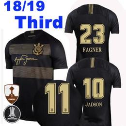 Versão especial on-line-2018 Corinthian Terceiro Ayrton Senna Camisas de Futebol FAGNER 23 JONATHAS 7 PEDRINHO JADSON 10 AUGUSTO camisa de Futebol