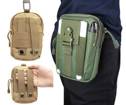 Tactical Molle Hip Multi-function Bags Outdoor Camping Climbing Bag Sport Waist Belt Wallet Running Pouch Purse Phone Case Hot Wholesale от