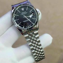 relojes de madera hechos a mano Rebajas 40mm nueva caliente de alta calidad de la marca para mujer para hombre del reloj del diamante Relojes Auto Fecha Maestro venda de acero de mujeres de los hombres de lujo del reloj relojes hombres Reloj