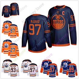 2019 mcdavid jersey s Edmonton Oilers Third Blau Jersey 97 Connor McDavid 27 Milan Lucic 29 Leon Draisaitl 93 Ryan Nugent-Hopkins 99 Wayne Gretzky günstig mcdavid jersey s