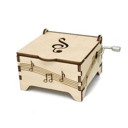 10 pcs Diy tecnologia pequena caixa de música caixa de manivela brinquedo Criativo Crianças Brinquedos Científicos de
