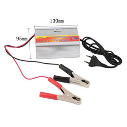 Livraison gratuite 12 V 10A Chargeur de batterie de voiture Moto Chargeur de batterie Chargeurs acide de plomb EU Plug Gros ? partir de fabricateur