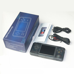 Mp4 jogo portátil on-line-CoolBaby RS-97 Handheld Consoles de jogos mini Portable retro Game player 1000+ Jogos clássicos AV OUT jogos de vídeo Machine 16GB MP3 MP4 players