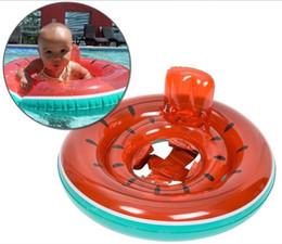 Juego inflable de la nadada online-Verano variado bebé flotador inflable piscina flamenco anillo niños animales inflables set anillos piña sandía flotador unicornio