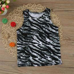 Summer Newborn Toddler Baby Boys Girls Zebra Stripe T Shirt Tops Chaleco Ropa Trajes NDA84L11 desde fabricantes
