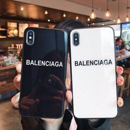 2019 tarjeta g3 caso de la cubierta del teléfono de cristal ligero blanco y negro blanco para el iPhone 6 7 8 6s 8plus XR X de la contraportada para el caso xr x 7plus iPhone de Apple para el iPhone x max