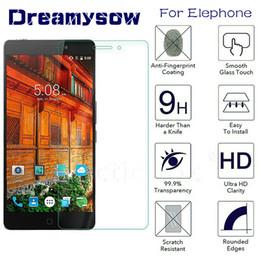 2019 pantalla de teléfono 9H templado protector de vidrio templado para Elephone S8 P9000 P8000 P8 Mini A4 Protector de pantalla de película para Elephone A4 pantalla de teléfono baratos