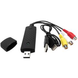 Canada Nouvelle arrivée 1set USB 2.0 HDMI vers RCA convertisseur adaptateur usb Audio Vidéo Câbles PC TV DVD VHS périphérique de capture pk easycap Offre
