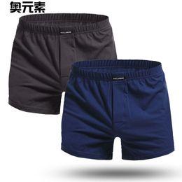 d0cd99b9e595 Compre Marca Sexy Men Underwear 2 Unids / Lote Boxer Shorts Troncos Para  Hombre Tallas Grandes Hombre Algodón Pantalones Ropa De Dormir Para El  Hogar De ...