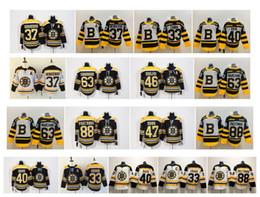 2020 nhl hockey jerseys boston bruins NHL Boston Bruins Trikot 88 David Pastrnak 37 Bergeron 63 Brad Marchand 33 Zdeno Chara 40 Tuukka Rask 46 David Krejci Eishockeytrikots günstig nhl hockey jerseys boston bruins