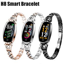 Deutschland H8 fitness armband frauen sport smart watch wasserdichte herzfrequenzüberwachung kamera steuerung nachricht push bluetooth für android ios cheap bluetooth push Versorgung