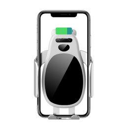 2019 Shenzhen fabrika en çok satan evrensel Araç Tutucu Cep Cep Telefonu montaj Cep Telefonu Ile Hızlı Kablosuz Şarj araç montaj için Telefon nereden cep telefonu montajı araç şarj cihazları tedarikçiler
