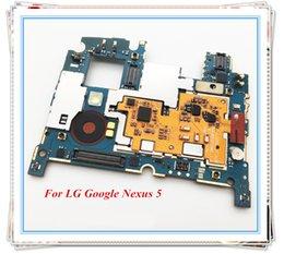 замена камеры iphone oem Скидка Оригинальный 32 ГБ материнская плата ~разблокированные чипы логическая плата для LG Nexus 5 D821 D820 материнская плата Android системы хорошо работал Бесплатная доставка